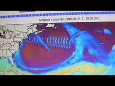 Be Aware - Huge Anomaly Appears Over New York and Upper East Coast!  UFO Sightings Hotspot