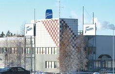 Fazer chocolate factory in Vantaa produces Finland's favourite chocolate.