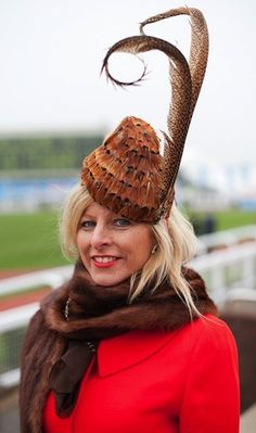 International recognition for Cheltenham Festival-winning milliner. For more tips on Fashion at the Races, read http://eclipsemagazine.co.uk/fashion