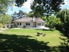 Superbe villa + studio sur 1600m2 à louer à Genthod
