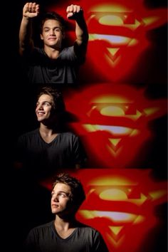 Dylan Sprayberry...I think they made a very good choice of who played young superman in Man of Steel! Lol