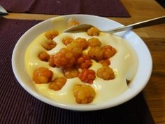 Cloudberries and Cream