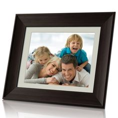 Coby Digital Photo Frame with Player (Wooden Frame) - - Product Description: Show off your photo memories with the featuring a classic wooden frame and a vibr Photo Studio Equipment, Digital Photo Frame, Photo Memories, The Life, The Ordinary, Wooden Frames, Picture Frames, Cool Things To Buy, Remote