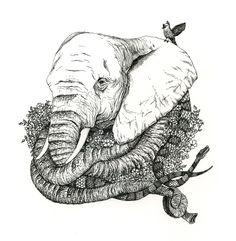 Elephant, by Mia Olofsson