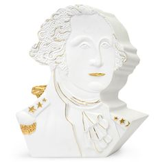 not sure why, but I kind of love this jonathan adler george washington sculpture..