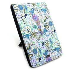JAVOedge Whimsical Paisley Flip Case with Kick Stand for the Amazon Kindle Fire - Latest Generation -- 25% DISCOUNT & FREE SUPER SAVER SHIPPING for a limited time! --- http://www.pinterest.com.welik.es/r2