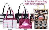 Cute photo tote bags!  Would be great for advertising or for projects!