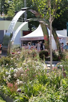 A moment of calm in the garden (Chelsea Flower Show 2014)