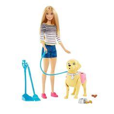Barbie Paseo De Perrito Barbie - Pepe Ganga - pepeganga