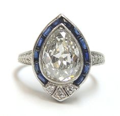 Hey, I found this really awesome Etsy listing at https://www.etsy.com/listing/231958608/antique-art-deco-engagement-ring