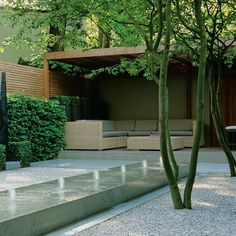 Five of the best small residential gardens | Pelham Crescent garden by Luciano Giubbilei | www.daisylovesdesign.com
