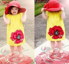 Sunshine Poppy Dress