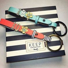 Don't have boring keys! Create your reversible key chain. keepcollective.com /with/carrietucker
