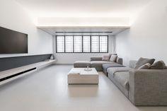 Clean apartment, minimalism.
