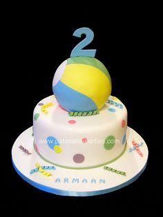 Bouncy Ball Cake by Relznik, via Flickr