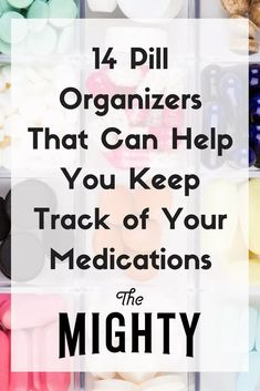 14 Pill Organizers That Can Help You Keep Track of Your Medications #chronicillness #mentalhealth Medicine Organization, Budget Organization, Medicine Storage, Chronic Illness, Chronic Pain, Fibromyalgia, Pill Box Organizer, Storage Organizers, Keep Track