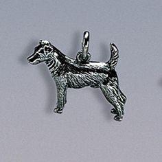 Anhänger Jack-Russell-Terrier Breite 20 mm, Höhe 15 mm Silbergewicht: 5,0 g