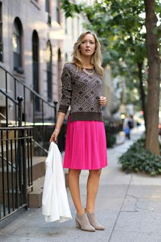 Corporate Chic with a Preppy Twist