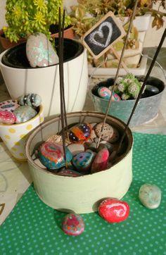 Decorando el jardín para primavera