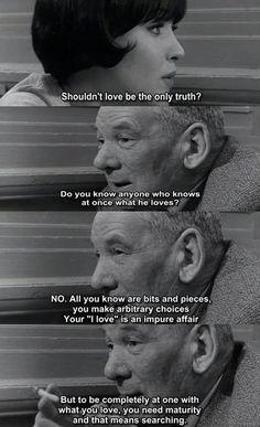 Vivre sa vie: Film en douze tableaux (1962) - Directed by Jean-Luc Godard