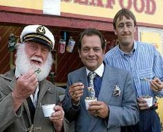 Only Fools and Horses The Jolly Boys Outing in Dreamland Theme Park in Margate Kent England in Summer 1989. The Jolly Boys Outing Episode of Only Fools and Horses was the Christmas 1989 Special for Only Fools and Horses