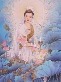 Centro Humanista Flor de Jasmim: Kwan Yin - OM MANI PADME HUM