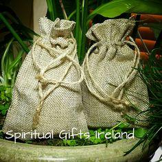 Burlap Jute Eco Friendly Gift Bags