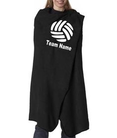 Volleyball blanket.   New Custom Volleyball blanket - LOVE these. Get your name, team name - great coach gift too!