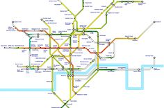london underground the tube hottest lines temperatures on the tube in august 2013 recorded by tfl transport for london