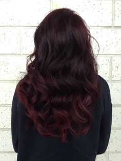 Red ombre. I love the subtlety of this and will probably have it done when I get the chance