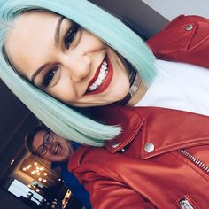 Jessie J from Stars With Blue Hair New Hair Cut jessie j new haircut Jessie J, Hair Inspo, Hair Inspiration, Divas, Natural Hair Styles, Short Hair Styles, Pastel Hair, Pastel Blue, Weave Hairstyles