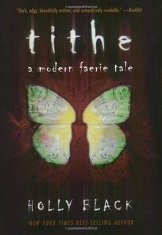 Tithe by Holly Black -- An urban fairy tale centering on Kaye, who follows her mother's rock band from gig to gig, eventually washing up on her grandmother's doorstep. As she's unwillingly drawn into a conflict between the Fae courts, this gritty fantasy delivers great, complex characters & eerie settings. Request it at http://eisenhowerlibrary.org/ or by calling the Answers desk at 708.867.2299