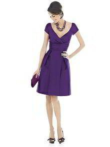 Alfred Sung Bridesmaid Dress D500 http://www.dessy.com/dresses/bridesmaid/d500/