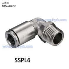 High Quality pneumatic pipe fittings, Buy Quality pneumatic pipe directly from China pneumatic fitting Suppliers: 5Pcs/lot SSPL6-M5/M6/01/02/03/04 SS316L Fittings Outside Diameter 6 Air compressor fittings Stainless steel fiting Sanmin