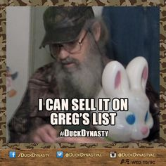 DuckDynasty: Uncle Si's Greg's List ... lol