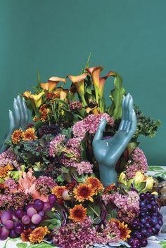 Dinner Party Table, Floral Arrangements, Flower Arrangement, Flow Arts, Flower Bomb, Grand Tour, West Palm, The Perfect Touch, Flower Power