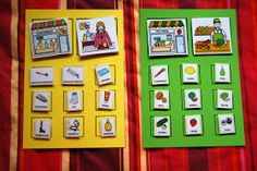 El baúl de A.L: Las tiendas Speech Language Therapy, Speech And Language, Speech Therapy, Preschool Education, Teaching Resources, Educational Activities, Classroom Activities, Learning Through Play, Kids Learning