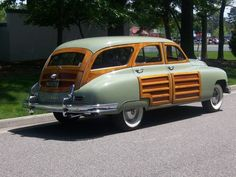 1951 Packard Woodie Wagon