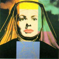 'Ingrid' de Andy Warhol (1928-1987, United States) #FredericClad
