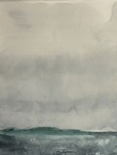 Koen Lybaert - Kotzebue - watercolor on paper [40 x 30] / 2013 - [price 160 euro, shipment include]