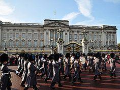 Londres en tres días. Palacio de Buckingham, Cambio de Guardia