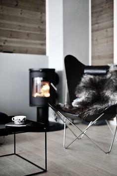 Lumbar Support For Office Chair Scandinavian Living, Scandinavian Interior, Handmade Furniture, Furniture Decor, Hygge, Camping Chairs, Butterfly Chair, Fireplace Design, Living Room Chairs