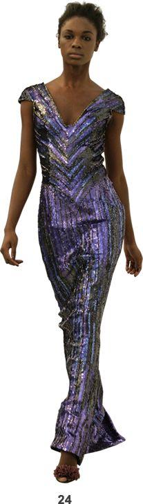 Dress by L'Wren Scott, fall/winter 2008.