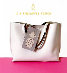 DIY Pineapple Pouch