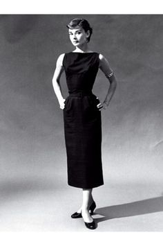 6013e410bc0f7 12 Things You Never Knew About Audrey Hepburn. Chanel Little Black  DressChanel BlackCoco ...