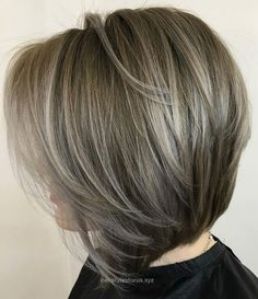 Look Over This Ash+Brown+Layered+Bob+With+Highlights  The post  Ash+Brown+Layered+Bob+With+Highlights…  appeared first on  Hairstyles .