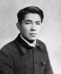 Daisaku Ikeda at the age of 19