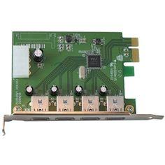 VisionTek 900544 Connect Series USB 3.0 4-port PCIE Expansion Card