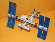 International Space Station paper model;  Instructions on how to build your own International Space Station paper model. Brought to you by CSIRO's Double Helix Science Club.