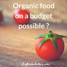 Here's how to stay on budget while going #organic. #Health